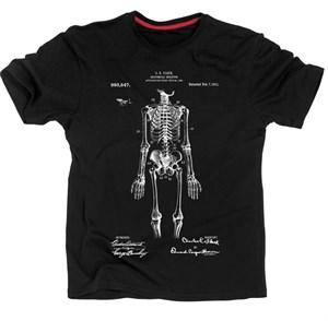 Патент Анатомическая модель скелета 1911