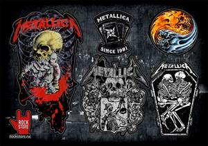 Стикерпак (Набор наклеек) Metallica#1
