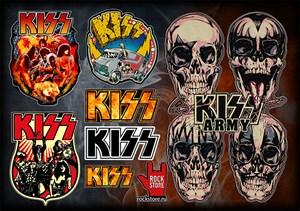 Стикерпак (Набор наклеек) Kiss#1