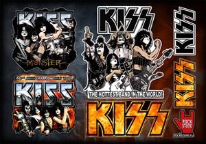 Стикерпак (Набор наклеек) Kiss#2